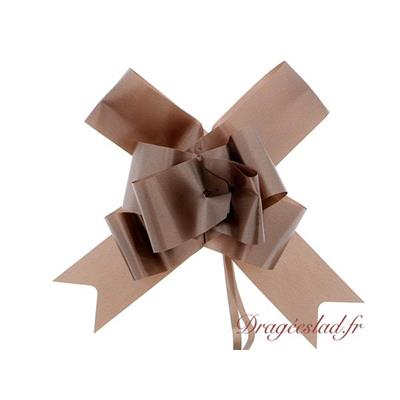 Noeud automatique papillon Chocolat