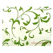 Chemin de table arabesque vert